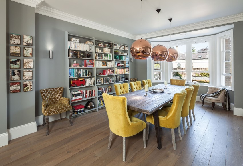 yellow 15 Dining Areas with Yellow Dining Chairs 1409568704 8