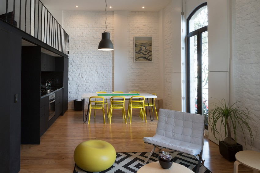 yellow 15 Dining Areas with Yellow Dining Chairs 150303 caso cordoba df 085
