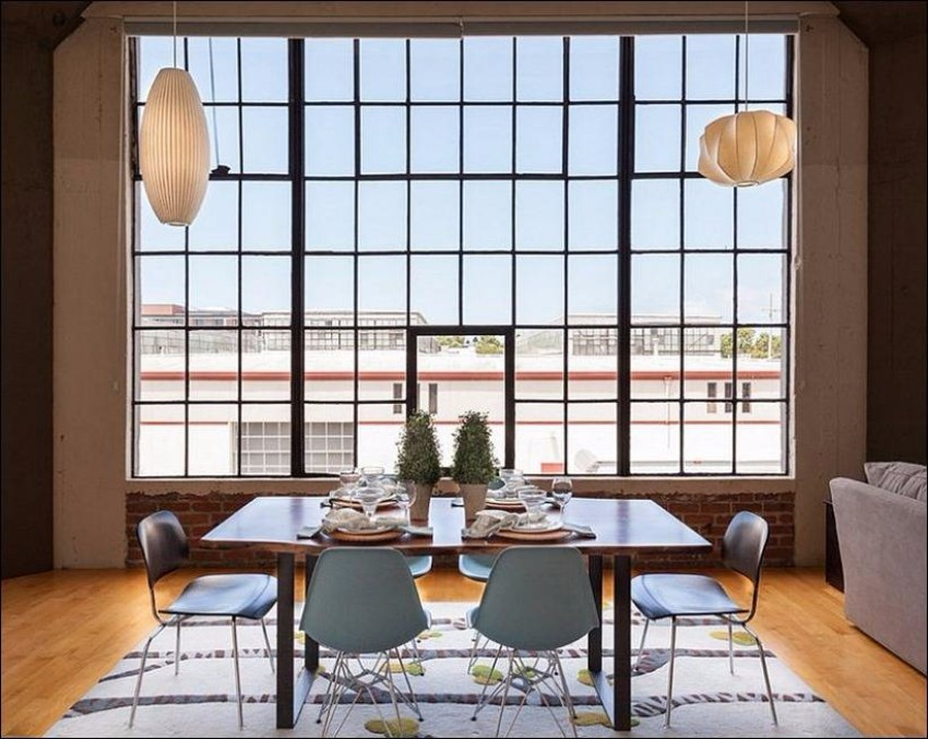 industrial 10 Ways to Create a Stylish Industrial Dining Room 2678 dizayn interera 14