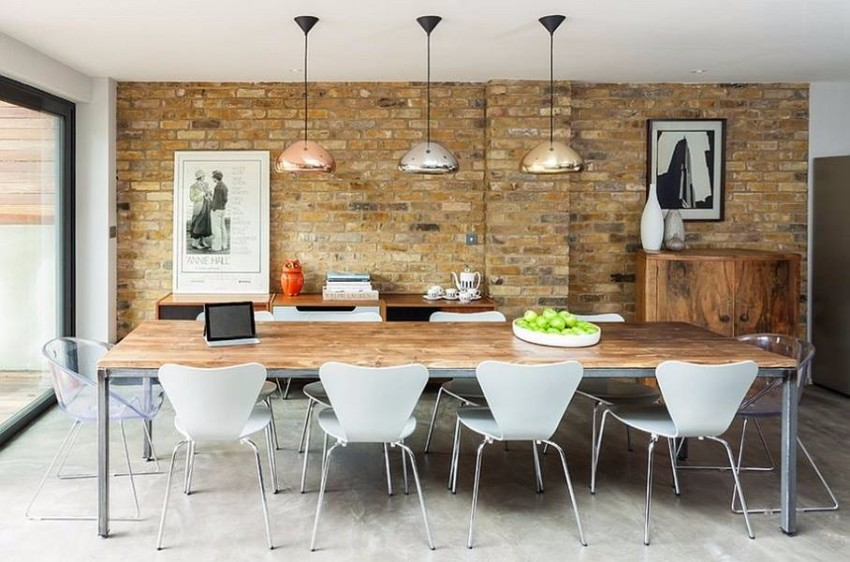 industrial How to Create a Stylish Industrial Dining Room Design Scandinavian Dining Chairs