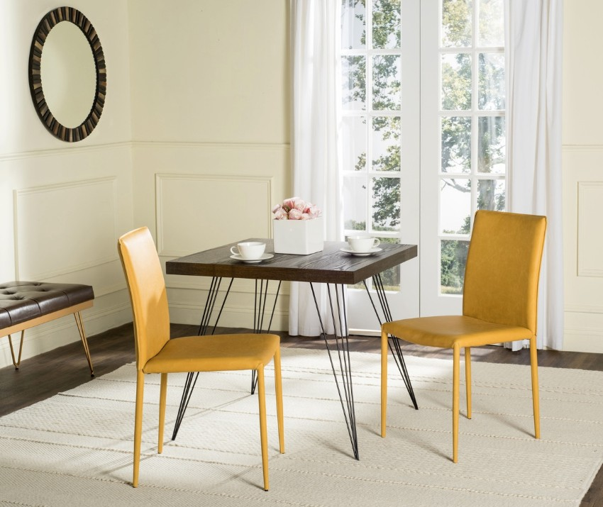 yellow 15 Dining Areas with Yellow Dining Chairs FOX2009S SET2