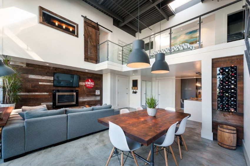 industrial industrial 10 Ways to Create a Stylish Industrial Dining Room Vintage Modern Loft 7