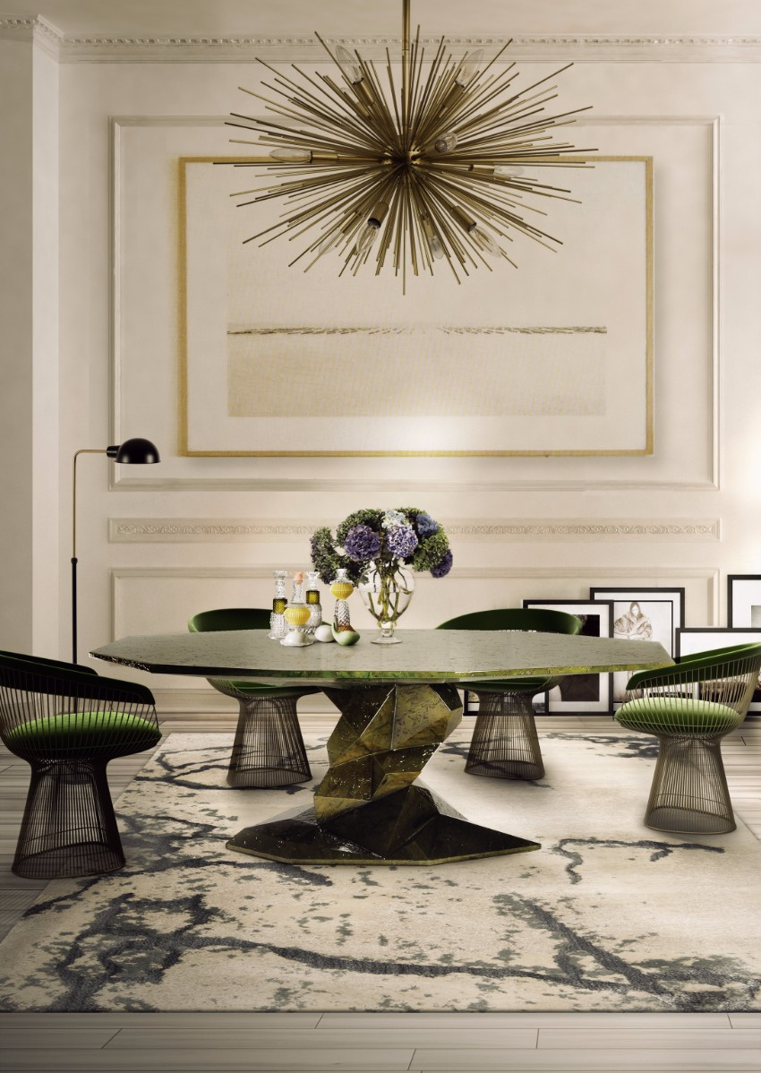 dining room 10 Dining Room Tables Unspoiled for Entertaining bonsai by boca do lobo