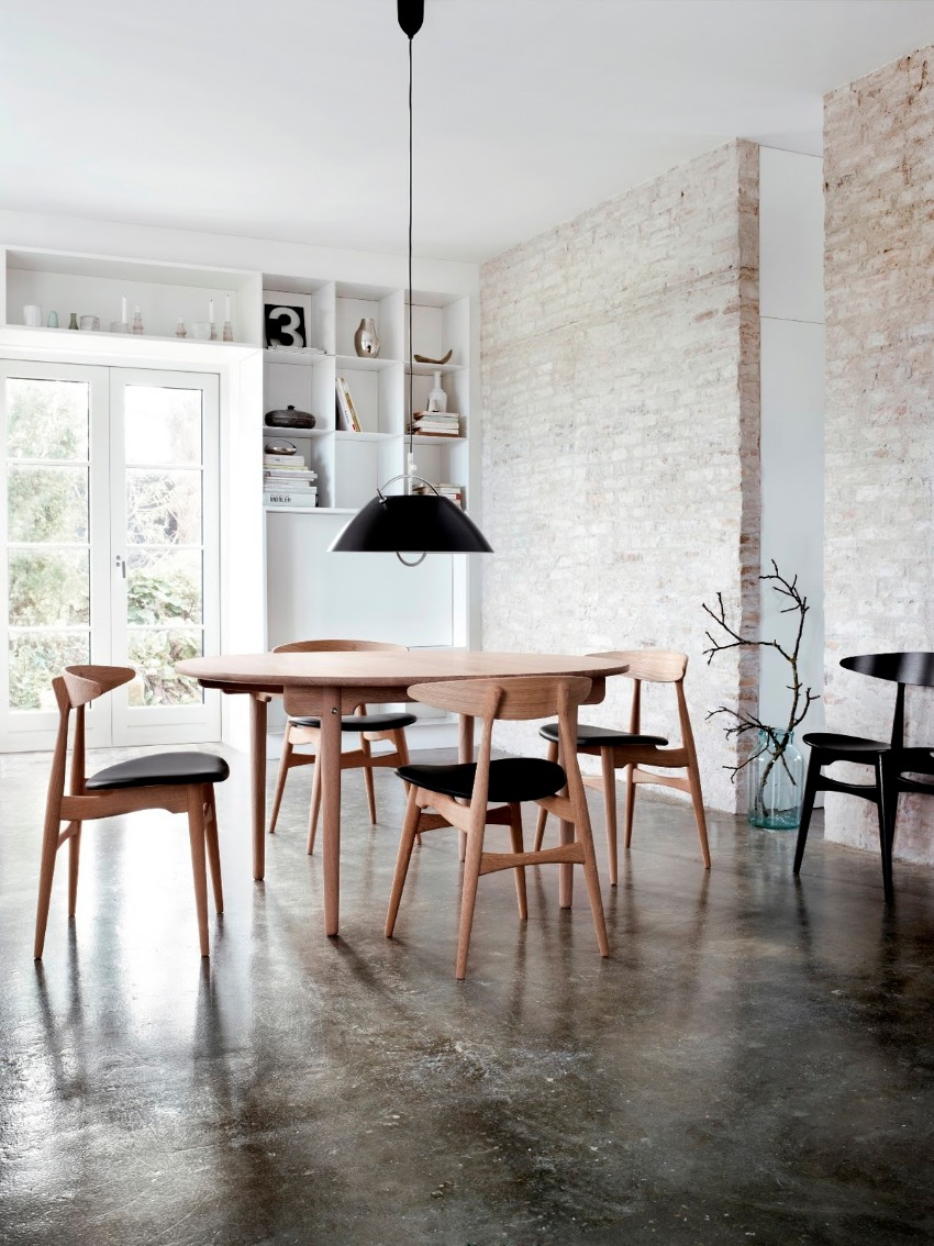 industrial 10 Ways to Create a Stylish Industrial Dining Room ch33 4