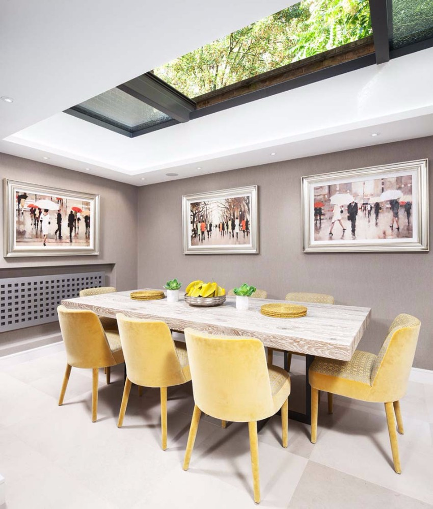 yellow 15 Dining Areas with Yellow Dining Chairs chaises salle a manger design