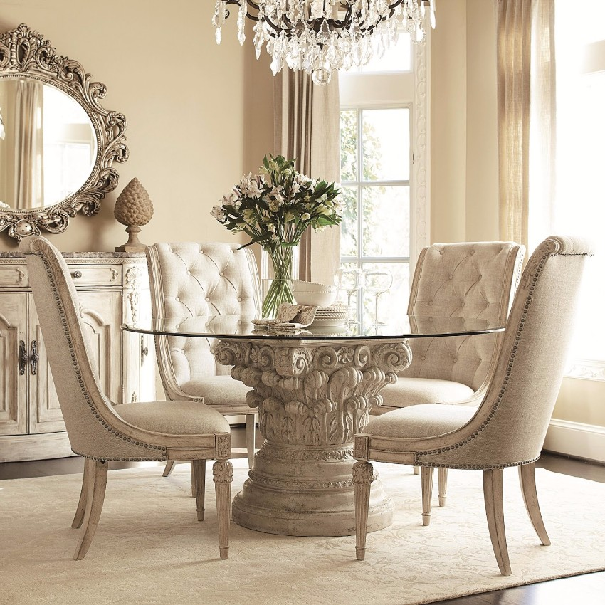 Round Dining Room Table Decor Ideas stunning round dining room table decor photos - today designs