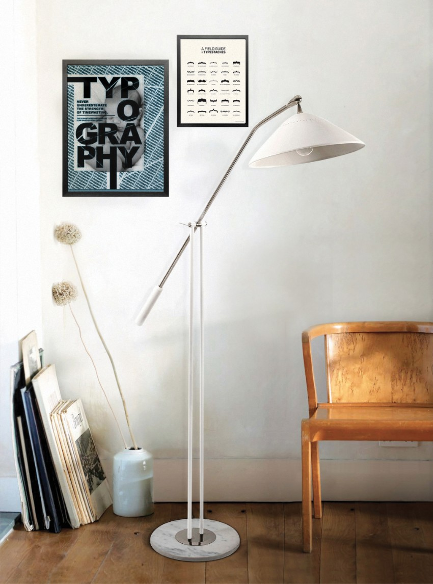 arc lamp Improve your Dining Room with a Scenic Arc Lamp delightfull armstrong 01