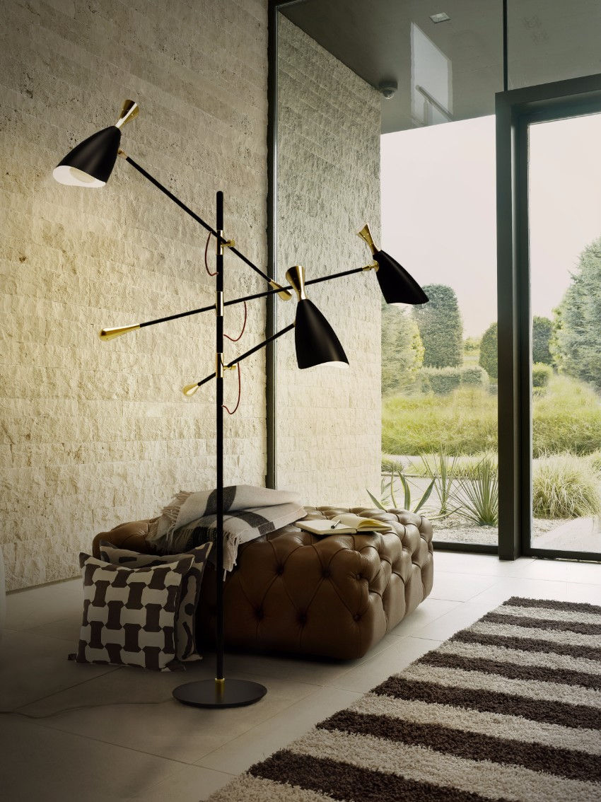 arc lamp Improve your Dining Room with a Scenic Arc Lamp delightfull duke 03