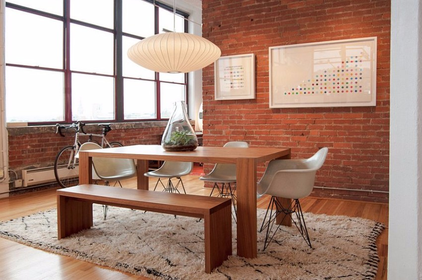 industrial 10 Ways to Create a Stylish Industrial Dining Room interier stolovoy v promishlenom stile 09