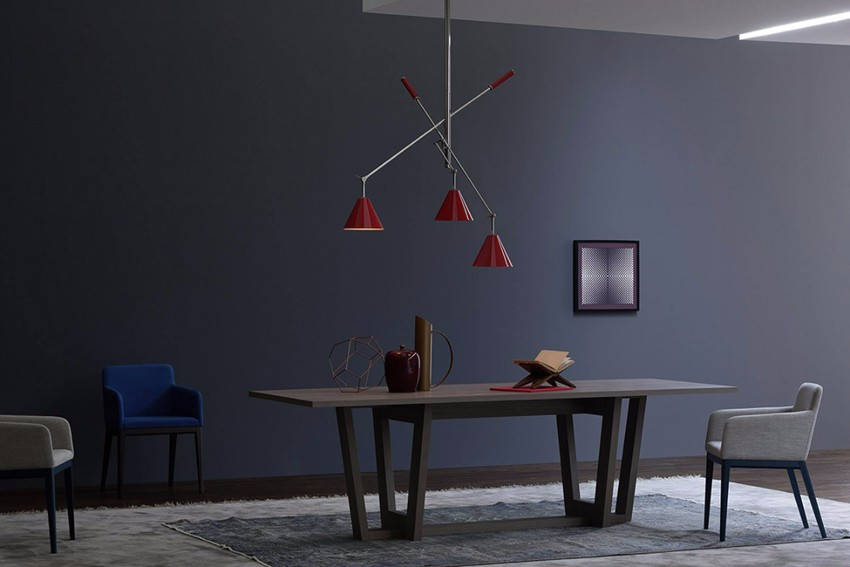 suspension lamp 10 Sophisticated Suspension Lamps For Your Dining Room living 26 big