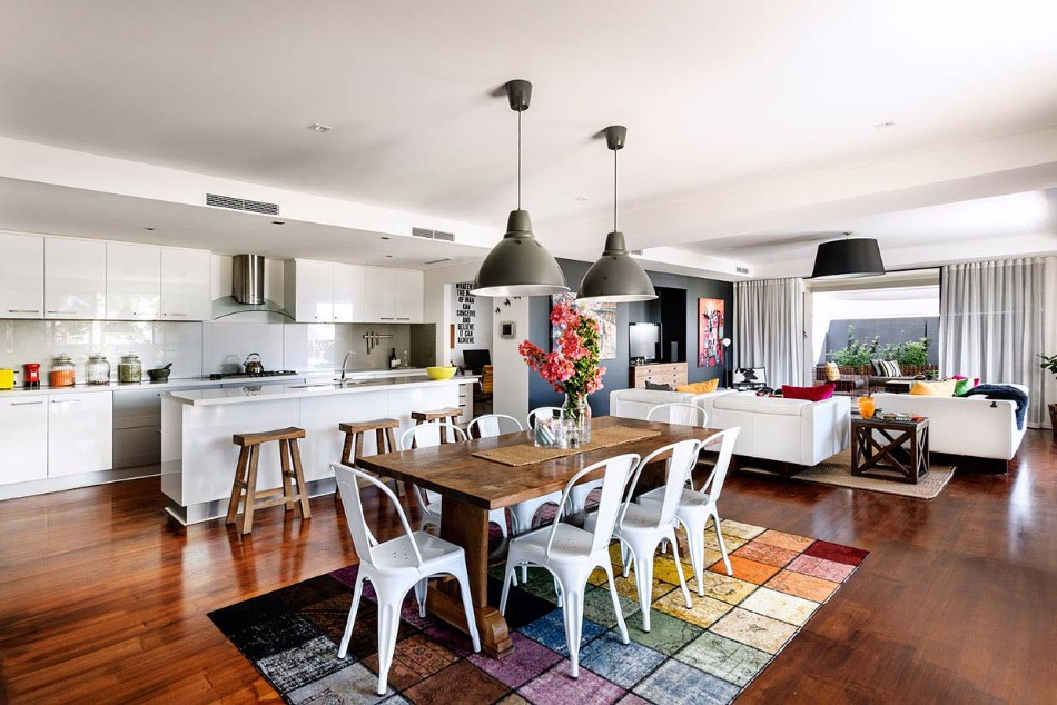 rug The Best Rugs For Your Dining Area modern family home coogee2