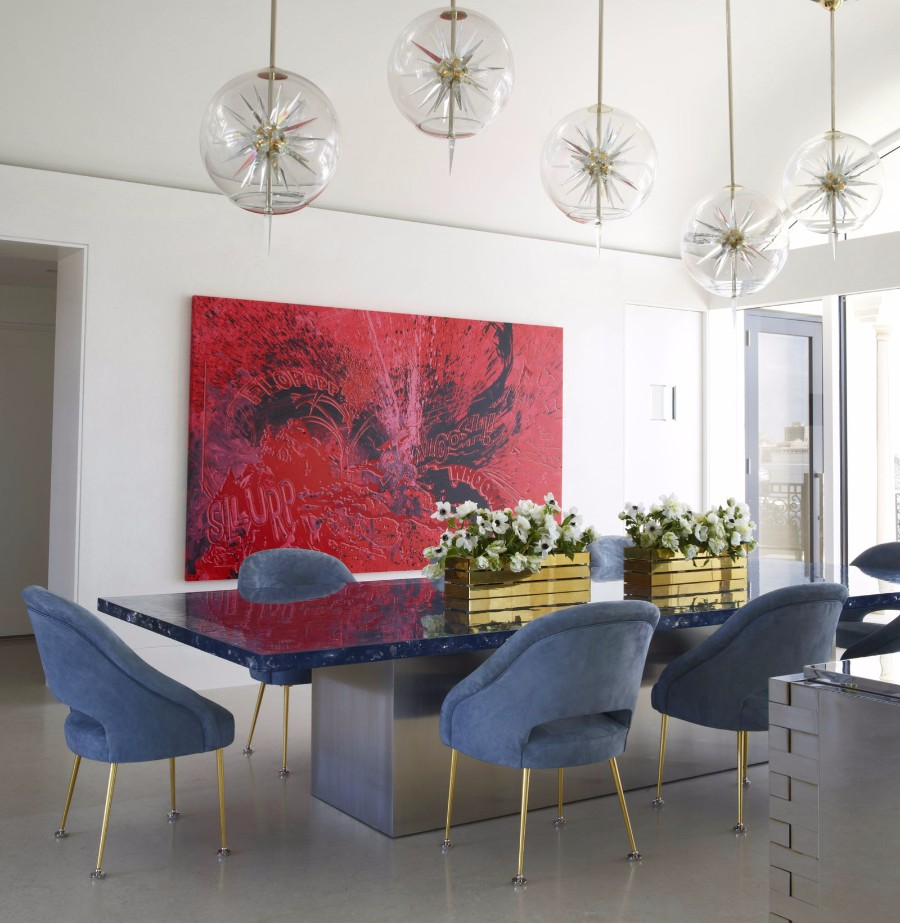 dining room Get inspired by 15 Modern Dining Room Ideas 06