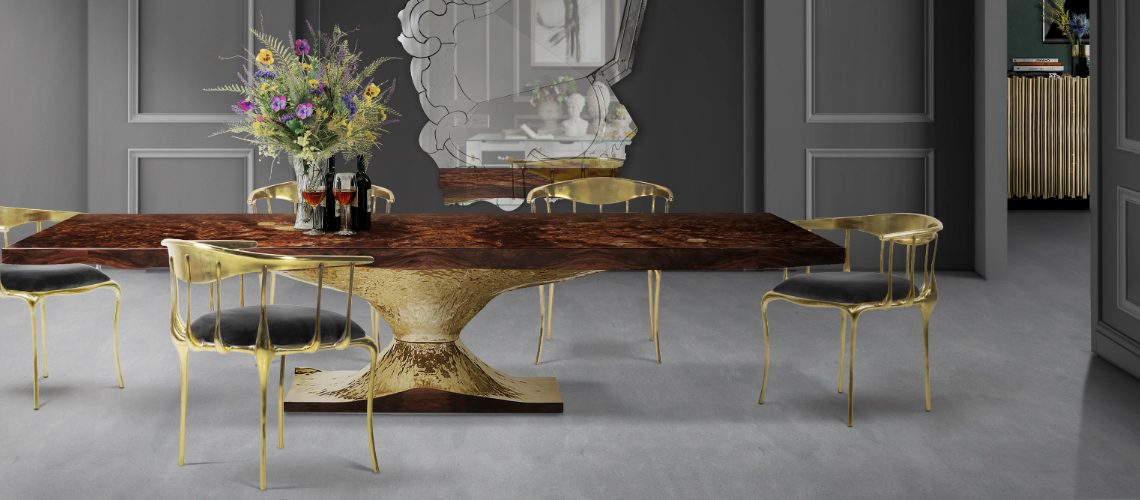 Salone Del Mobile 2017: Stunning Dining Room Sets by Boca do Lobo
