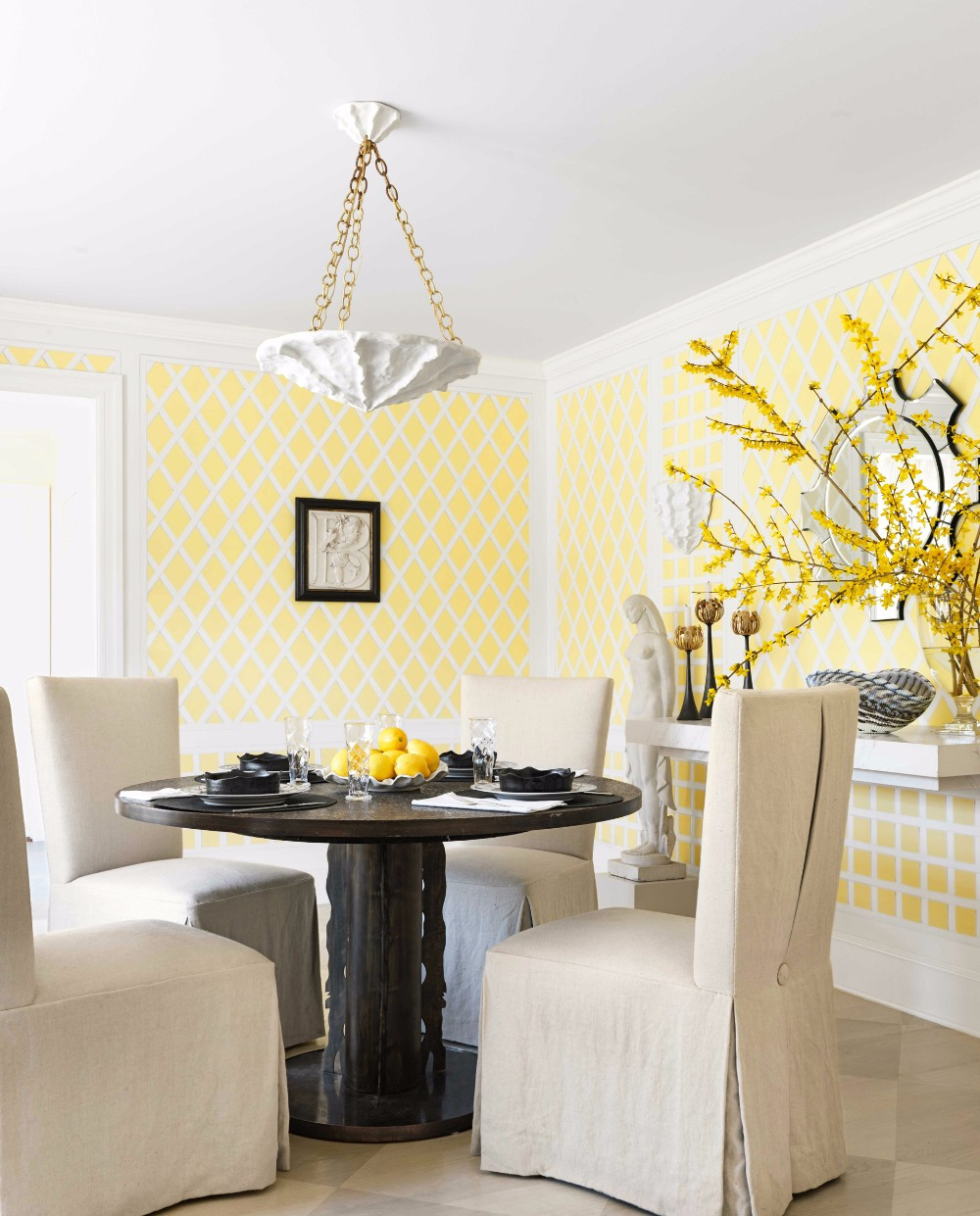 dining room 15 Best Colors for Dining Rooms 12849c3a24ec02456c07dc812b7fba95