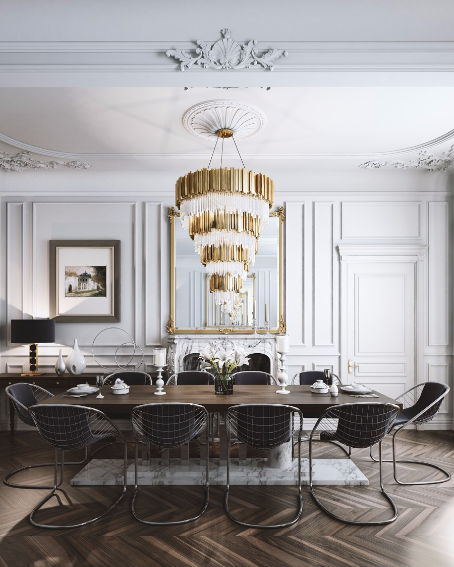 dining room Get inspired by 15 Modern Dining Room Ideas 20 Dining Room Ideas You Need to Get Inspired By 9