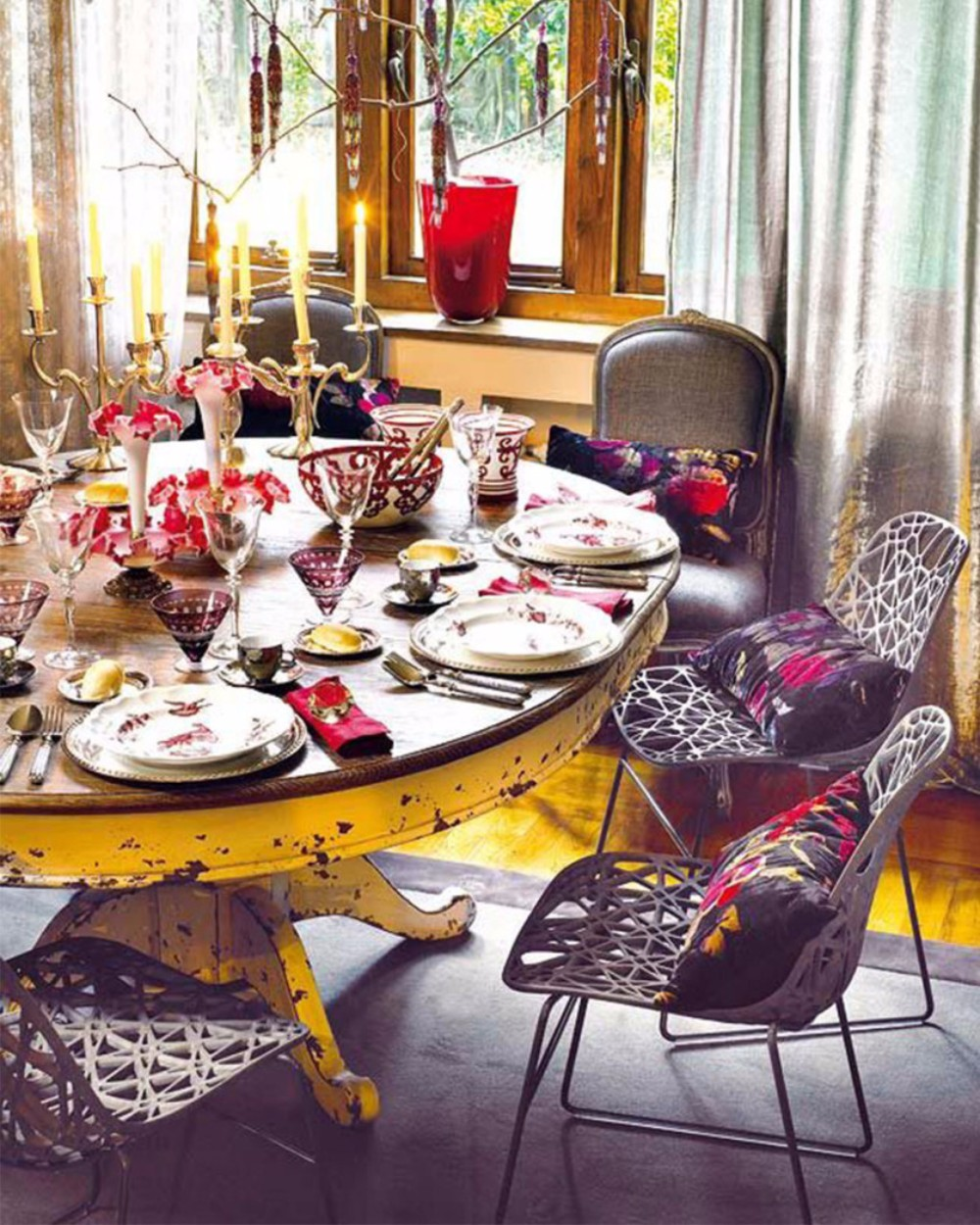 boho chic 25 Boho Chic Dining Room Designs That Will Inspire You 25 boho chic dining room designs that will inspire you 15