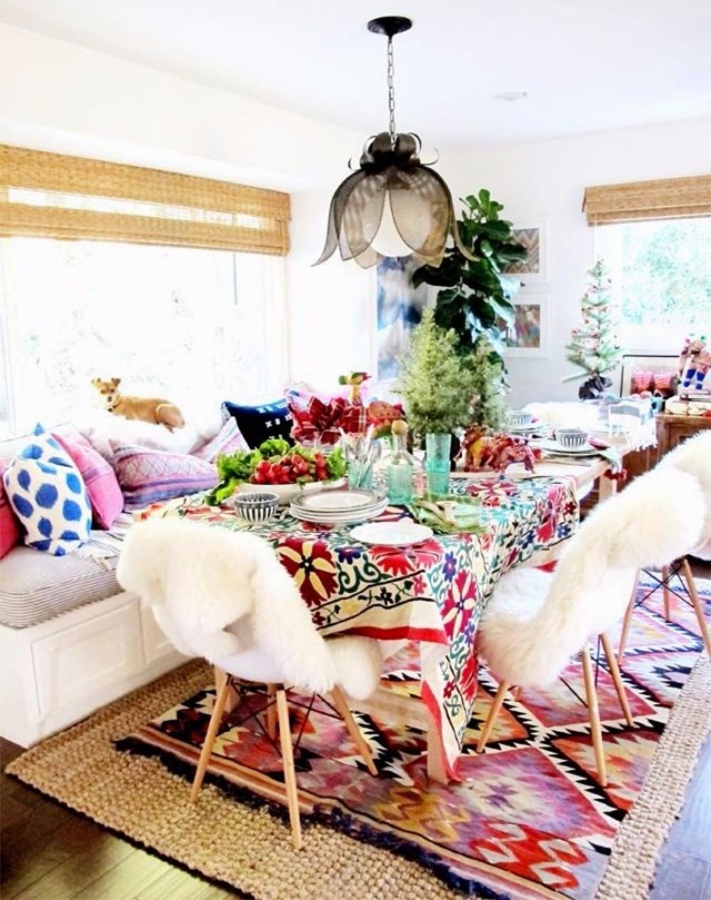 boho chic 25 Boho Chic Dining Room Designs That Will Inspire You 25 boho chic dining room designs that will inspire you 18