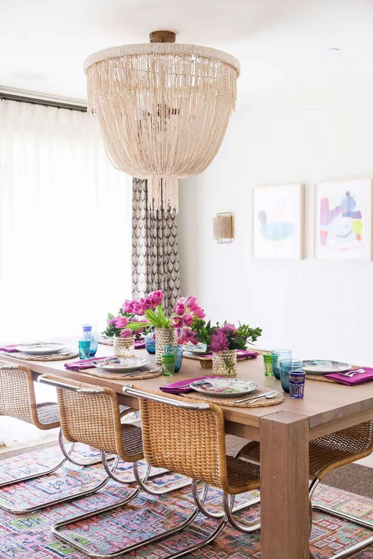 boho chic 25 Boho Chic Dining Room Designs That Will Inspire You 25 boho chic dining room designs that will inspire you 2