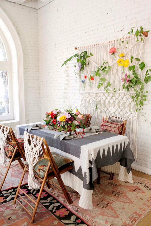 boho chic 25 Boho Chic Dining Room Designs That Will Inspire You 25 boho chic dining room designs that will inspire you 9