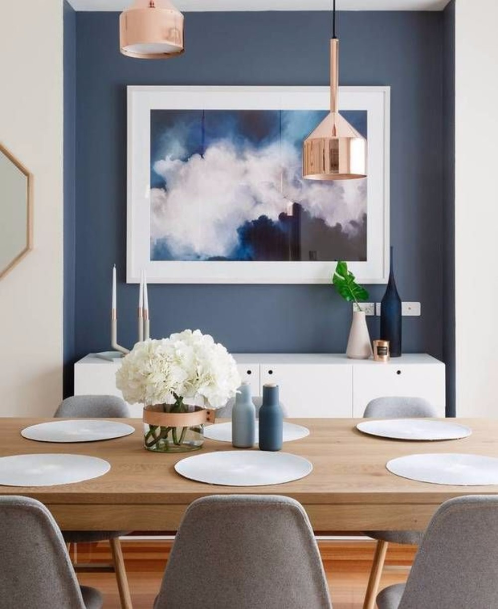 gray Gray and Wood: A Match Made in Design Heaven for your Dining Room 3c5586d094eb9c8d856a1ecc9dba975a