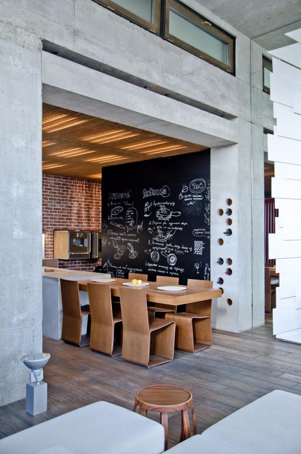 chalkboard 10 Chalkboard Dining Room Designs 5775f051