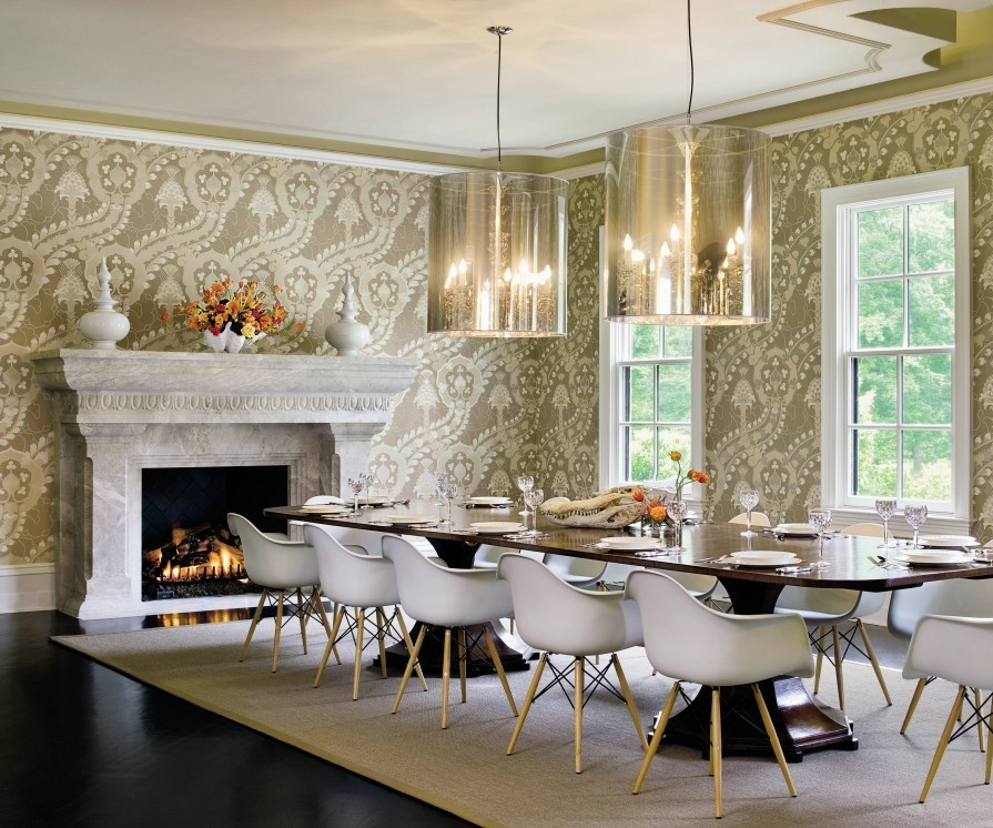 celebrity dining room 10 Celebrity Dining Rooms That You Will Love Ricky Carmichael