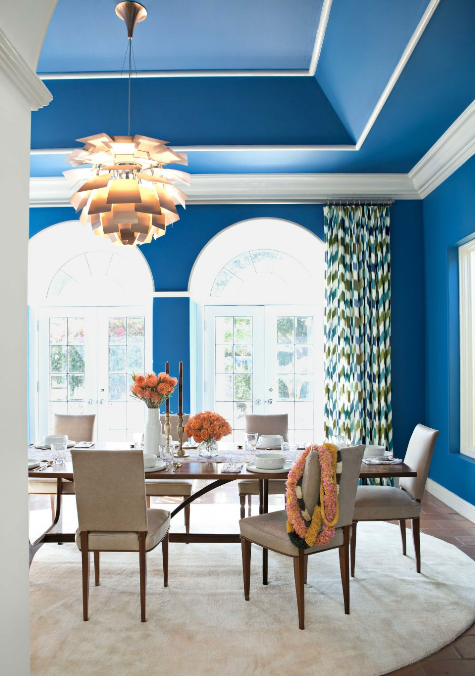 colors 10 Colors That Look Amazing In The Dining Room Area blue