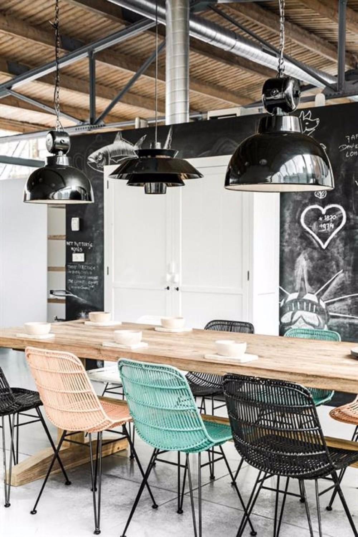 chalkboard chalkboard 10 Chalkboard Dining Room Designs des suspensions geantes dans la salle a manger 5506013