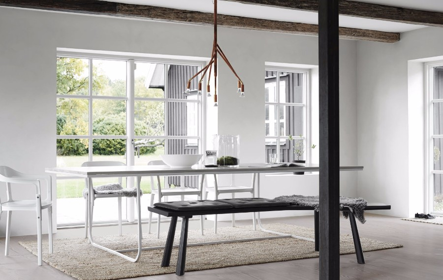 modern dining room dining room Get inspired by 15 Modern Dining Room Ideas edc020116sweden04