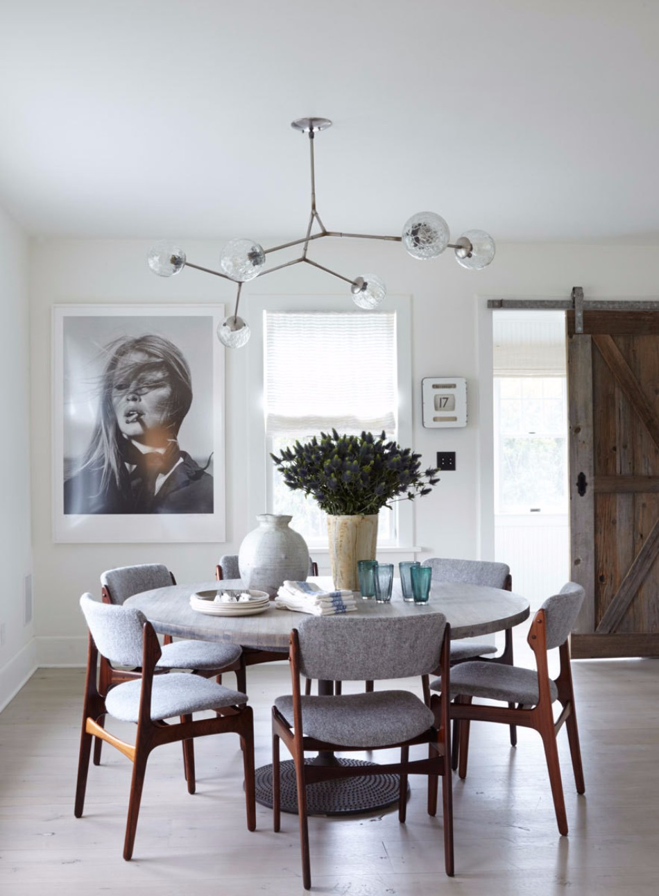 gray dining room 15 Graceful Gray Dining Room Ideas hf7t79HseN0x