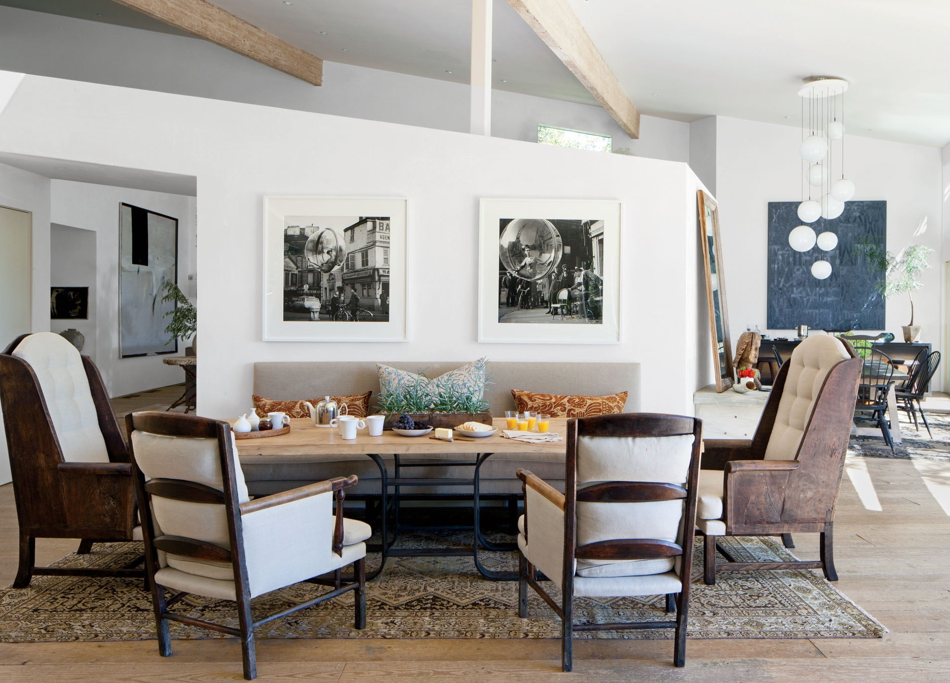 celebrity dining room 10 Celebrity Dining Rooms That You Will Love patrick demps