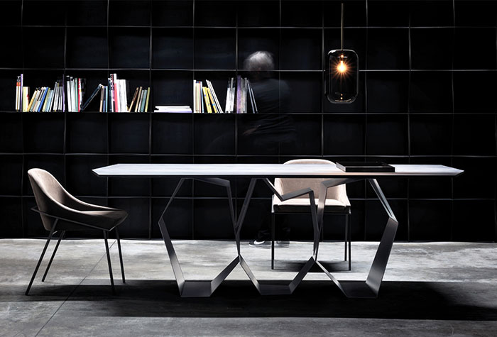 ronda design Discover the Sculptural Table by Ronda Design quasimodo table ronda design 1