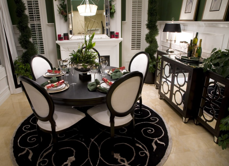 dining table How To Mix and Match Chairs With Your Dining Table shutterstock 7777207