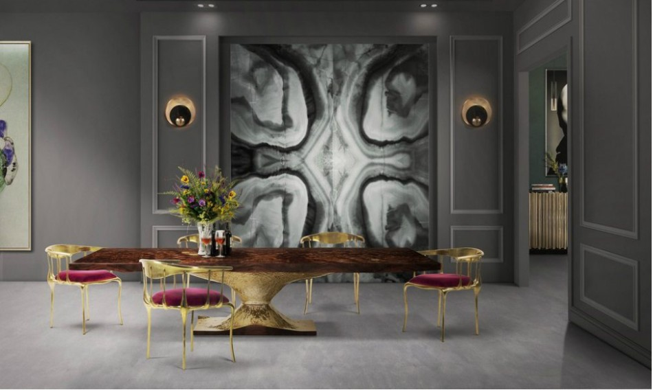 ad show The Best Dining Tables You Can Find At AD Show 2017 the best dining tables you can find at ad show 2017 5