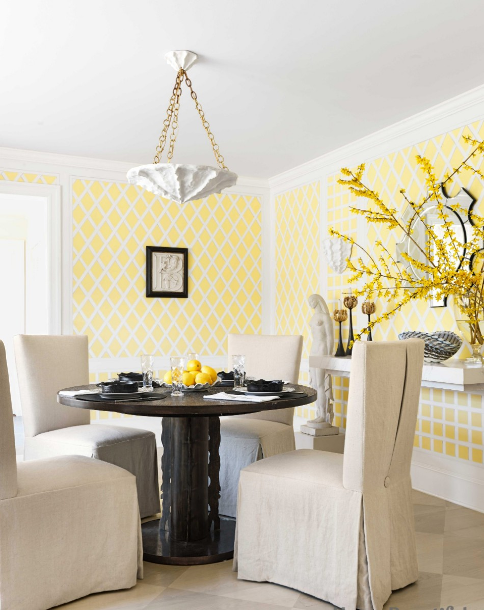 colors colors 10 Colors That Look Amazing In The Dining Room Area ywllow