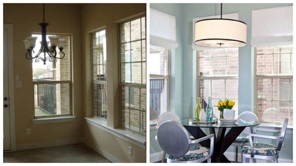 Dining Room transformation Before & After: 10 Amazing Dining Room Transformations 54c178984764d   01 hbx breakfast room makeover de