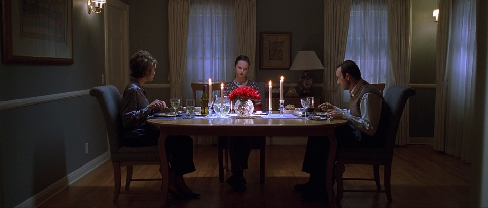 movie scene movie scene 10 Memorable Movie Scenes Set At The Dining Table American Beauty dinner