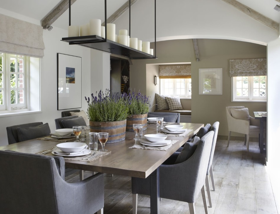 helen green Top 100 Coveted Magazine: Brilliant Dining Rooms by Helen Green Country House Sussex