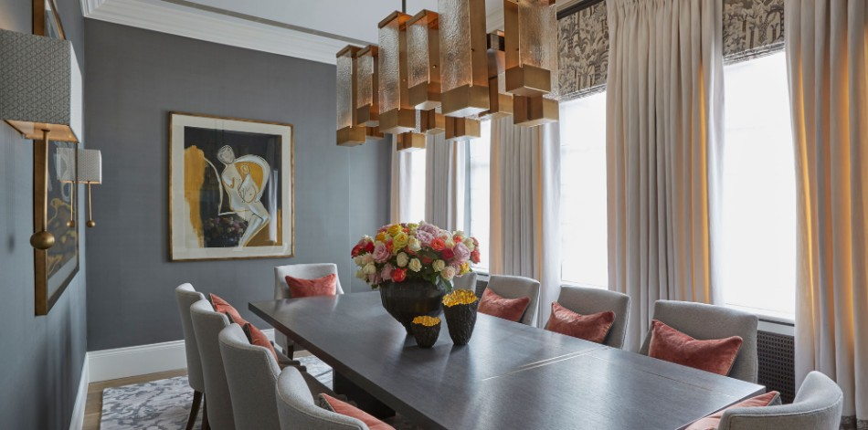 helen green Top 100 Coveted Magazine: Brilliant Dining Rooms by Helen Green Family House Chelsea