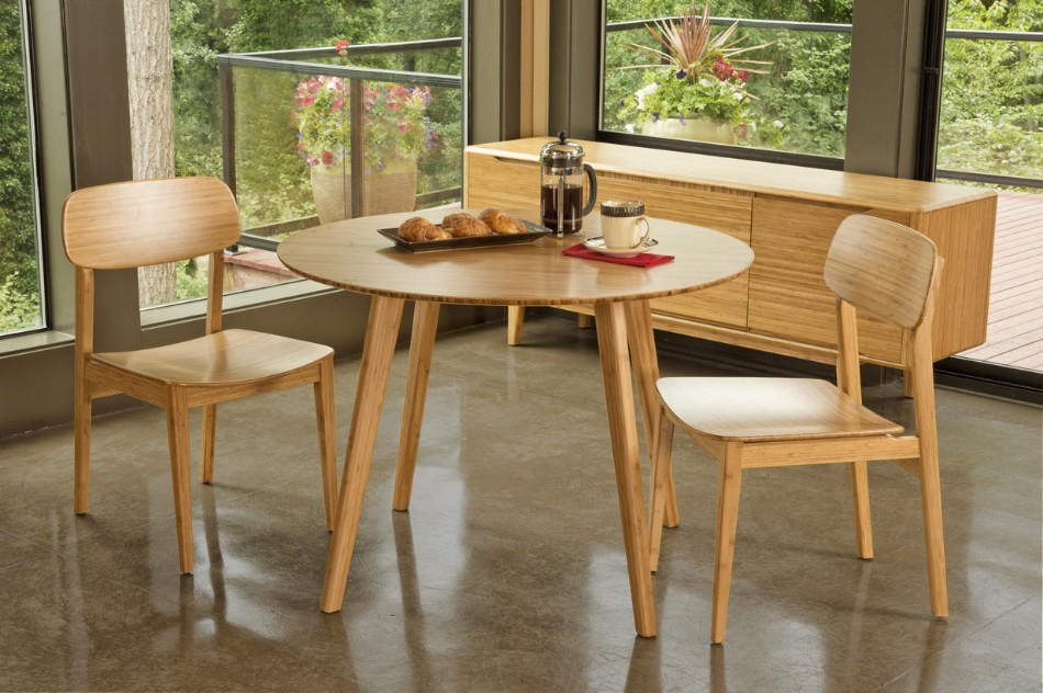 eco-friendly dining room Go Green: 10 Ideas For An Eco-friendly Dining Room Greenington Currant Round Dining