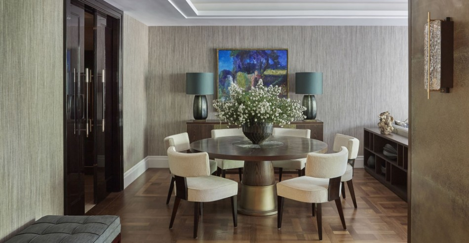 helen green Top 100 Coveted Magazine: Brilliant Dining Rooms by Helen Green Lateral Apartment Belgravia