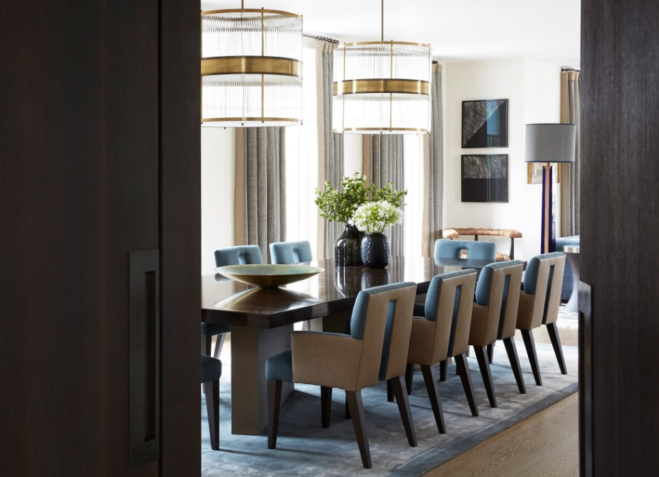 Brilliant Dining Rooms By Helen Green Penthouse North Knightsbridge