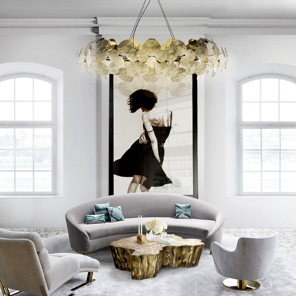 statement chandelier