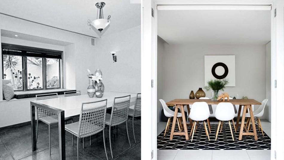 Dining Room transformation Before & After: 10 Amazing Dining Room Transformations before after dining room jan15 20150604113134 q75dx1920y u1r1g0c