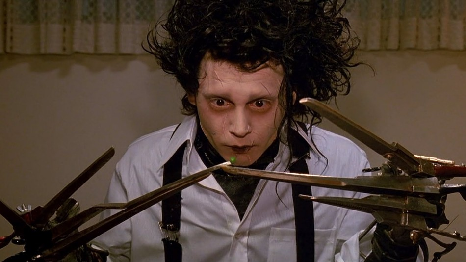 movie scene 10 Memorable Movie Scenes Set At The Dining Table edward scissorhands original