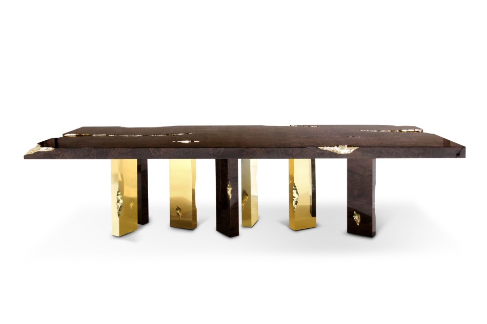 boca do lobo boca do lobo Brilliant Luxurious Dining Tables By Boca do Lobo empire dining table