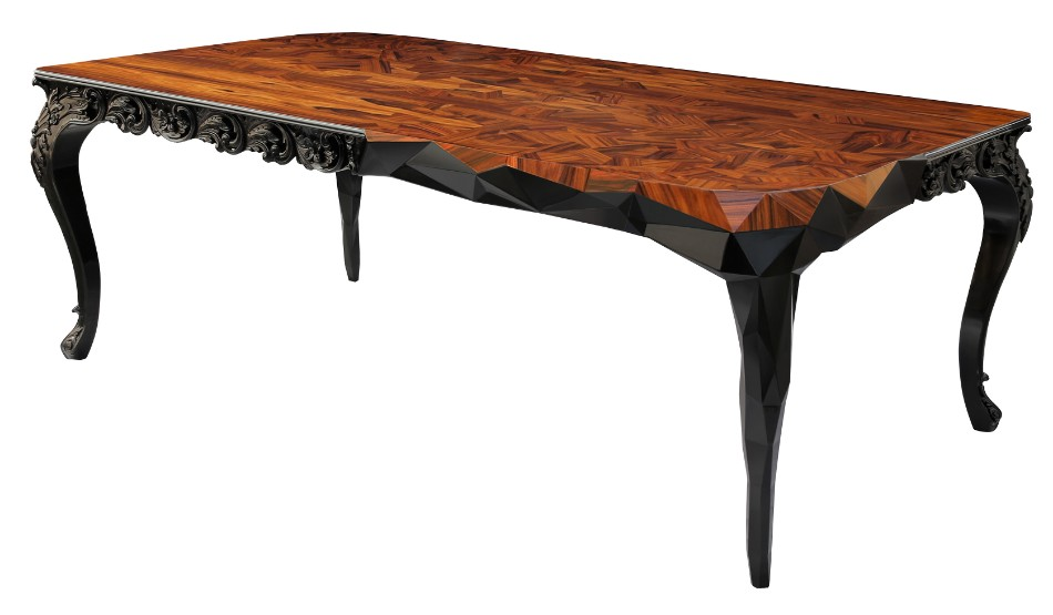 boca do lobo boca do lobo Brilliant Luxurious Dining Tables By Boca do Lobo royal dining table zoom