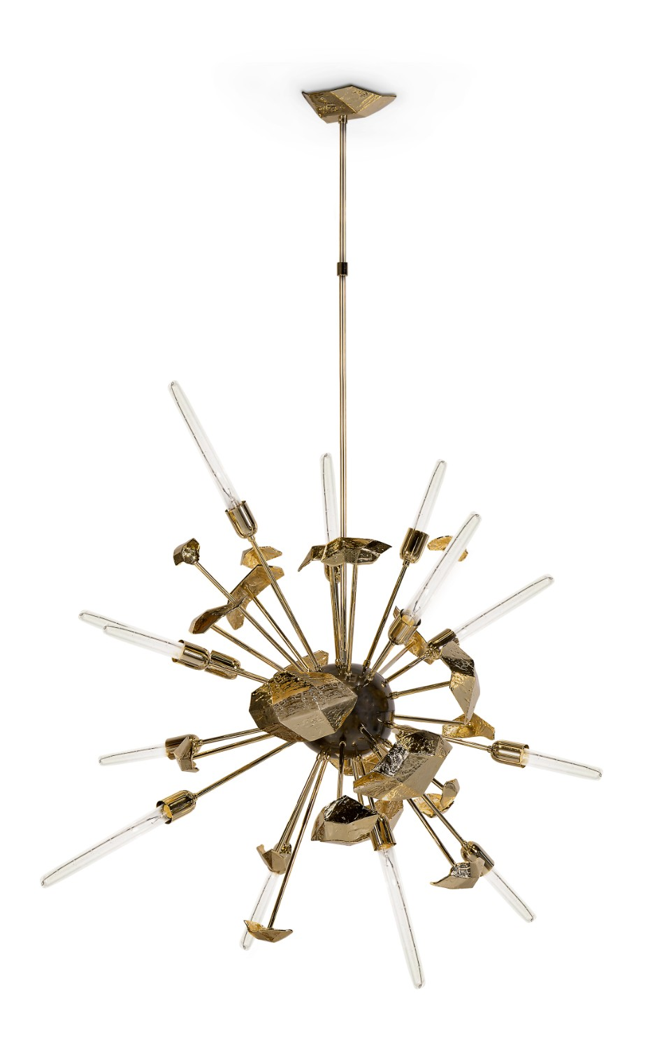 statement chandelier Brilliant Dining Rooms With Statement Chandeliers supernova chandelier 01