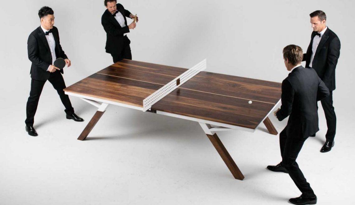 You Can Play Ping Pong In This Modern Dining Table | www.bocadolobo.com #diningtable #pingpong #creativedesign #diningroom @moderndiningtables