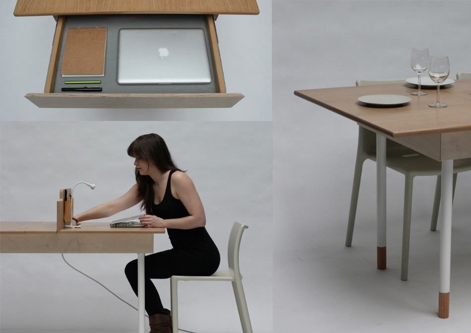 adaptable dining table A Modern Adaptable Dining Table 36